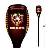 Chicago Bears - Team Pride LED Solar Torch