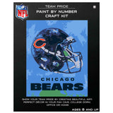 Chicago Bears - Team Pride Paint By Number Craft Kit