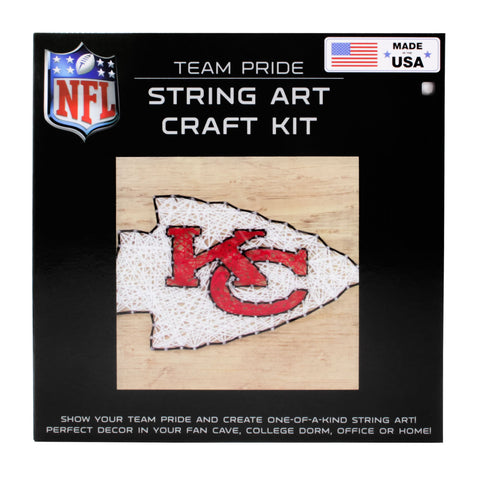 Kansas City Chiefs - Team Pride String Art Kit