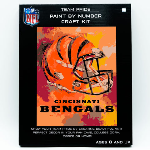 Cincinnati Bengals - Team Pride Paint By Numbers Craft Kit