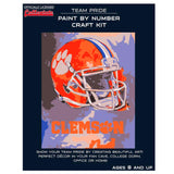 Clemson Tigers - Team Pride Paint By Number Craft Kit