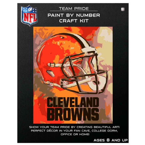 Cleveland Browns - Team Pride Paint By Numbers Craft Kit