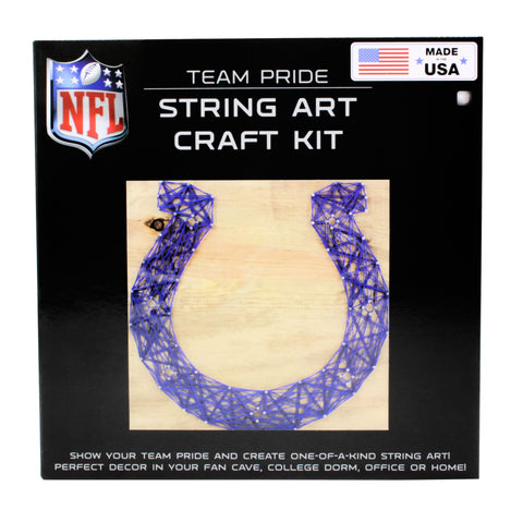 Indianapolis Colts - Team Pride String Art Kit