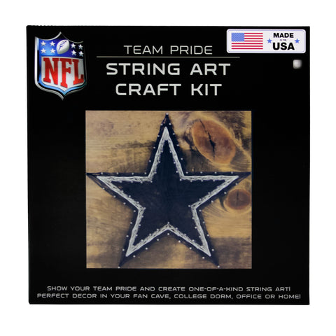 Dallas Cowboys - Team Pride String Art Kit