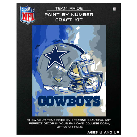 Dallas Cowboys - Team Pride Paint By Number Craft Kit