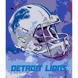 Detroit Lions - Team Pride Paint By Numbers Craft Kit