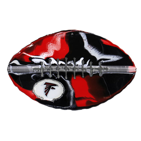Atlanta Falcons - Team Pride Recycled Metal Wall Art Football