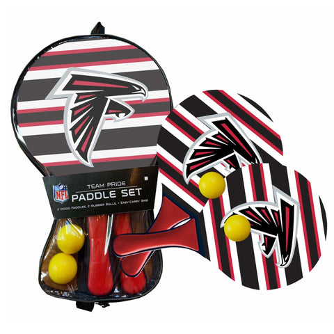 Atlanta Falcons - Team Pride Paddle Ball Set