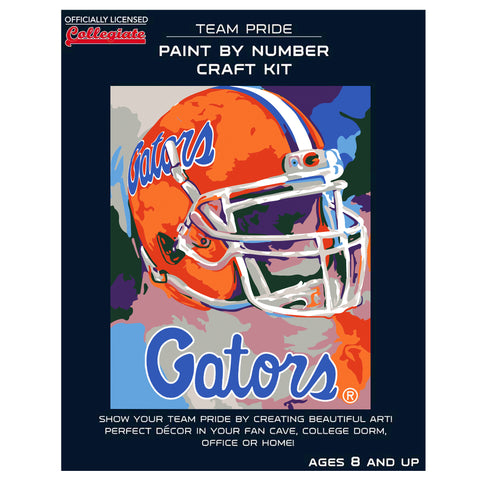 Florida Gators - Team Pride Paint By Number Craft Kit