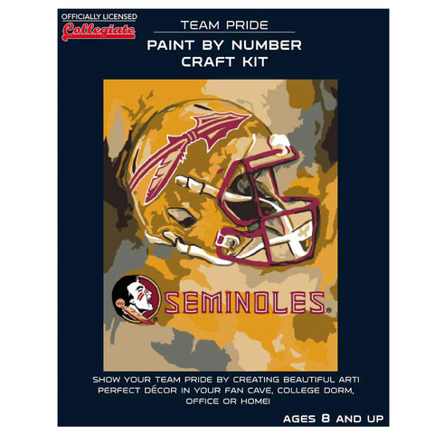 Florida State Seminoles - Team Pride Paint By Number Craft Kit