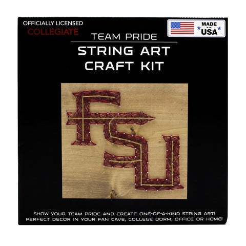 Florida State Seminoles - Team Pride String Art Kit