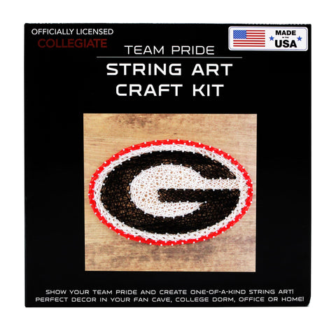 Georgia Bulldogs - Team Pride String Art Kit