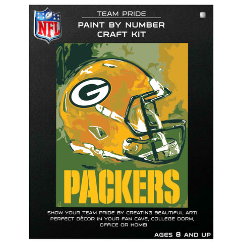 Green Bay Packers - Team Pride Paint By Number Craft Kit