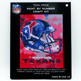 Houston Texans - Team Pride Paint By Number Craft Kit