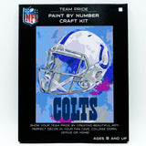 Indianapolis Colts - Team Pride Paint By Number Craft Kit