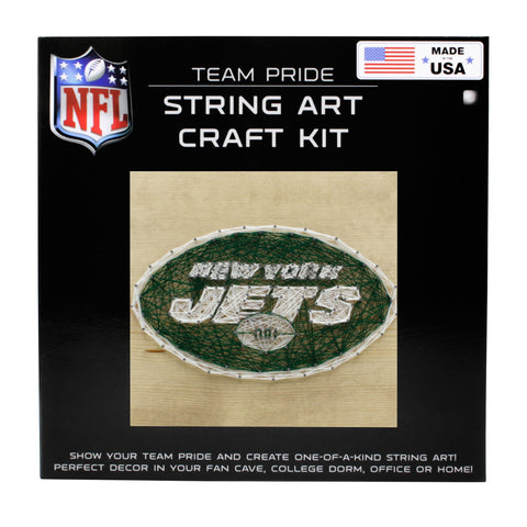 New York Jets - Team Pride String Art Kit