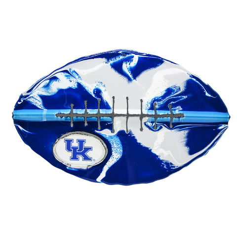Kentucky Wildcats - Team Pride Recycled Metal Wall Art Football