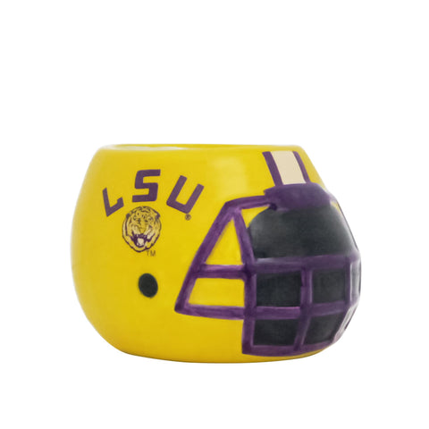 Louisiana State University Tigers - Ceramic Helmet Planter – Empty Planter