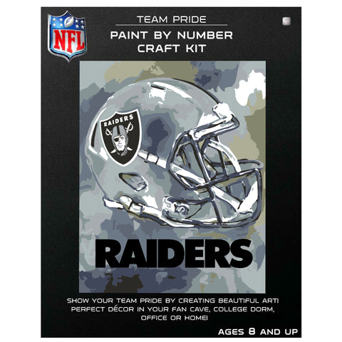 Las Vegas Raiders - Team Pride Paint By Numbers Craft Kit