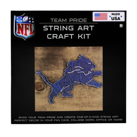 Detroit Lions - Team Pride String Art Kit