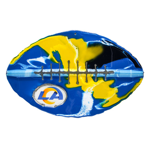 Los Angeles Rams - Team Pride Recycled Metal Wall Art Football
