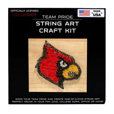 Louisville Cardinals - Team Pride String Art Kit