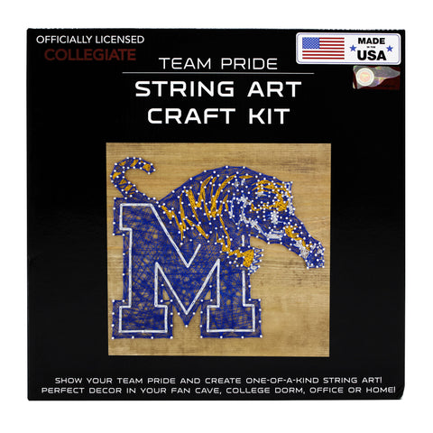 Memphis Tigers - Team Pride String Art Kit