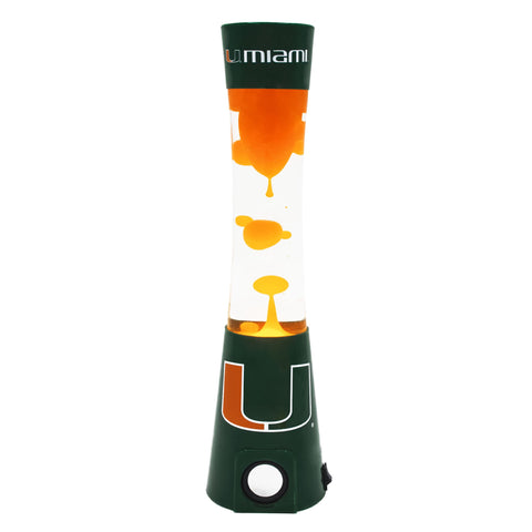 Miami Hurricanes -<br>Team Pride Magma Lamp
