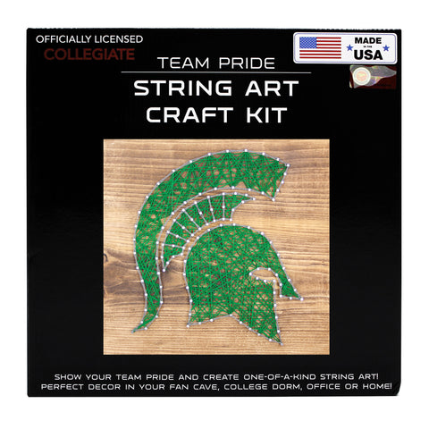 Michigan State Spartans - Team Pride String Art Kit