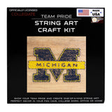 Michigan Wolverines- Team Pride String Art Kit