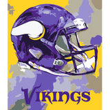 Minnesota Vikings - Team Pride Paint By Number Craft Kit