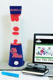 Mississippi Ole Miss Rebels -<br>Team Pride Magma Lamp