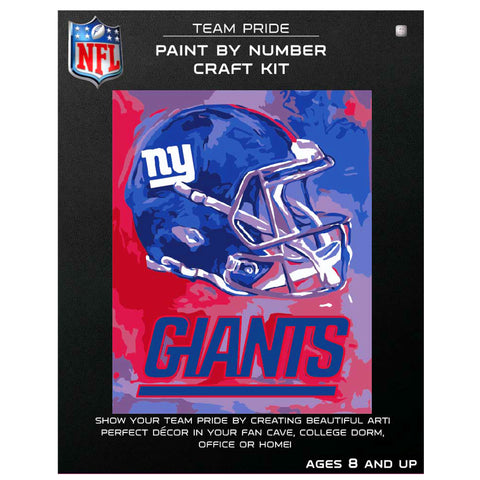 New York Giants - Team Pride Paint By Number Craft Kit