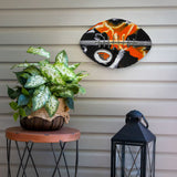 Oregon State Beavers - Team Pride Recycled Metal Wall Art Football