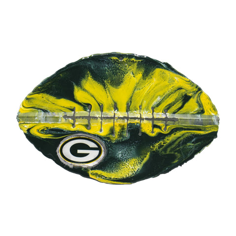 Green Bay Packers - Team Pride Recycled Metal Wall Art Football