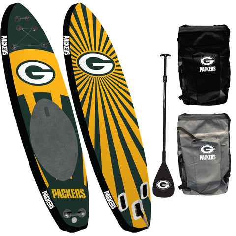 Green Bay Packers - Team Pride Inflatable Stand Up Paddle Board