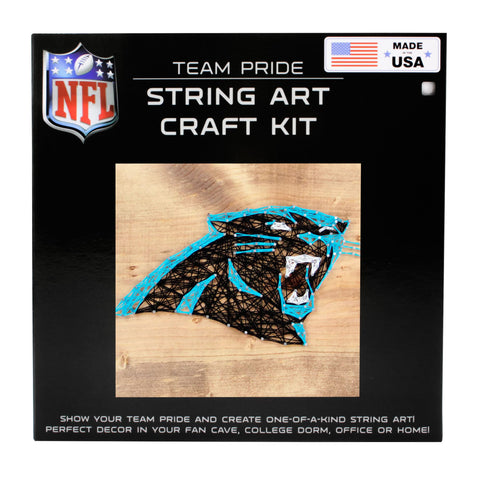 Carolina Panthers - Team Pride String Art Kit