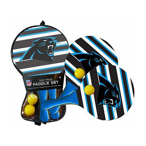 Carolina Panthers - Team Pride Paddle Ball Set