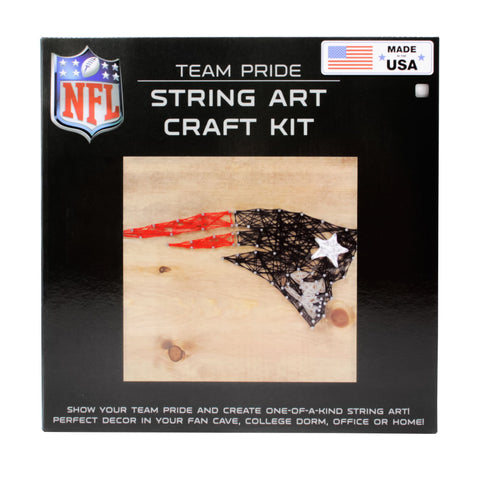 New England Patriots - Team Pride String Art Kit