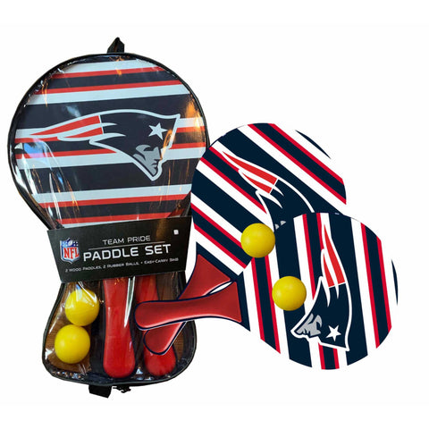 New England Patriots - Team Pride Paddle Ball Set