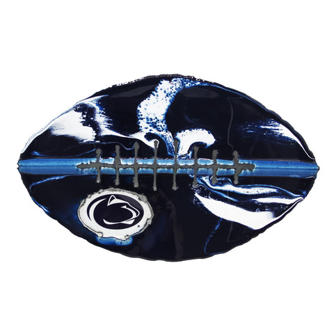 Penn State Nittany Lions - Team Pride Recycled Metal Wall Art Football