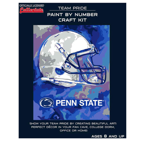 Penn State Nittany Lions - Team Pride Paint By Number Craft Kit