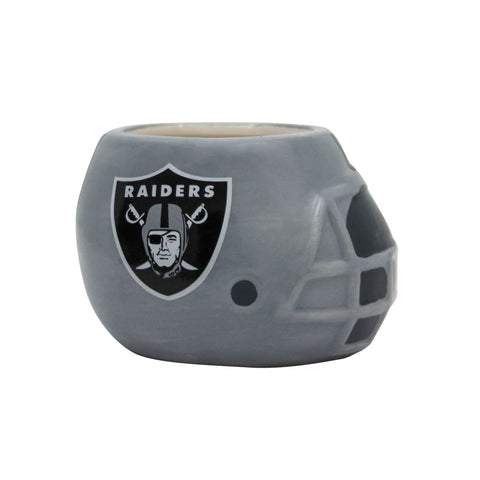 Las Vegas Raiders - Ceramic Helmet Planter – Empty Planter