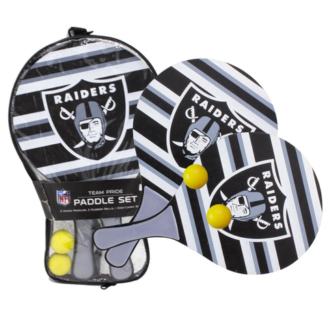 Las Vegas Raiders - Team Pride Paddle Ball Set