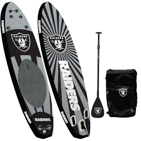 Oakland Raiders - Team Pride Inflatable Stand Up Paddle Board