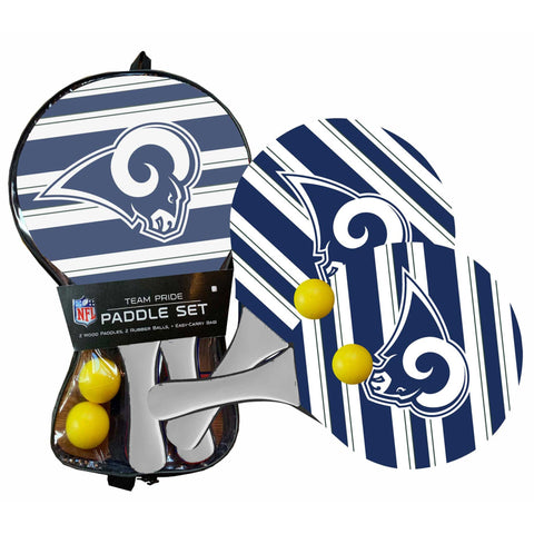 Los Angeles Rams - Team Pride Paddle Ball Set