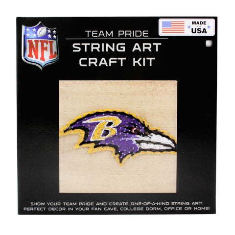 Baltimore Ravens - Team Pride String Art Kit