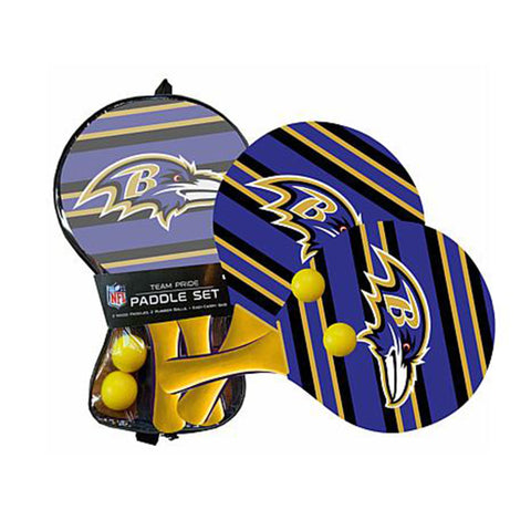 Baltimore Ravens - Team Pride Paddle Ball Set