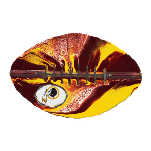 Washington Redskins - Team Pride Recycled Metal Wall Art Football