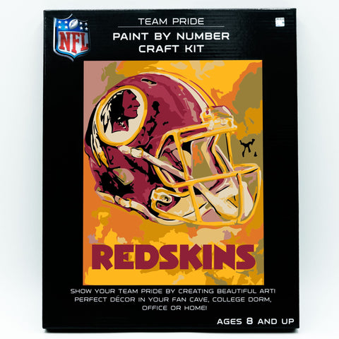 Washington Redskins - Team Pride Paint By Numbers Craft Kit